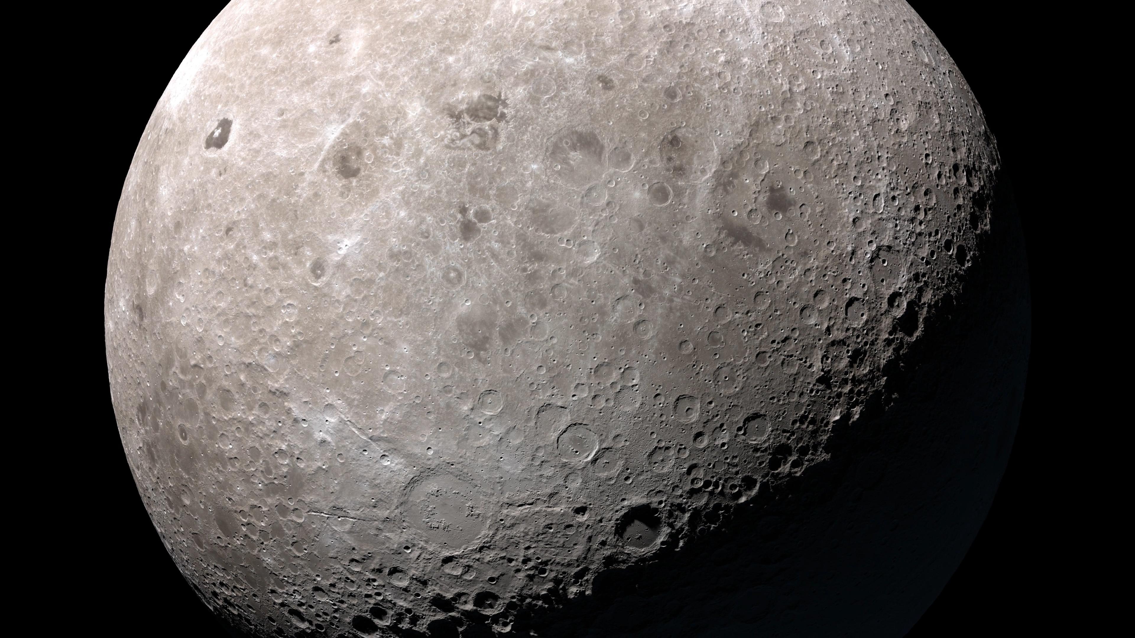 historia de la luna