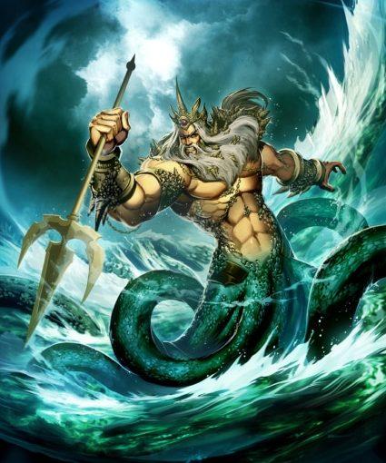 Historia de Poseidón