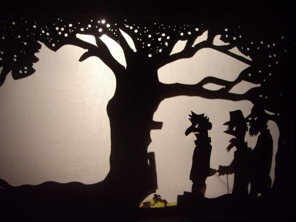 Historia del teatro de sombras