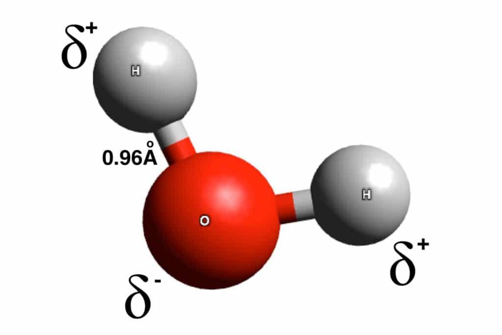 historia del enlace covalente polar