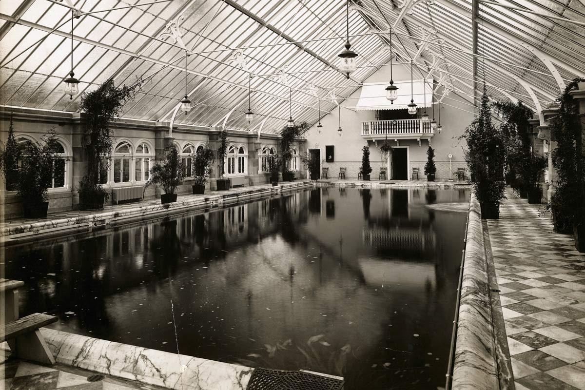 historia de las piscinas